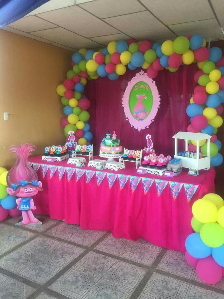 Girls Trolls Bedroom: Pin On Birthday Themes