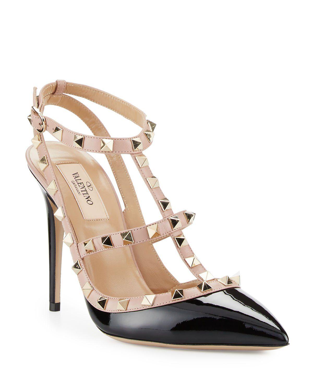Valentino Garavani Rockstud Pumps $945 | Valentino heels