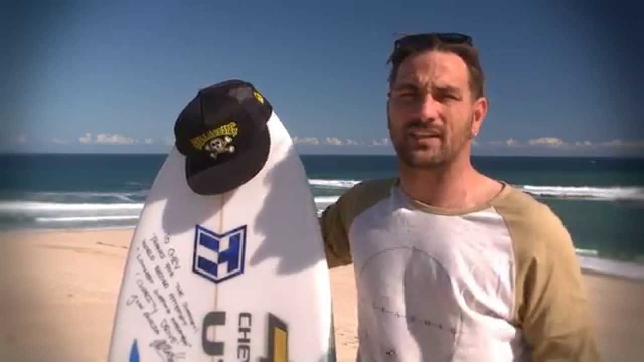 Josh Enslin Guinness World Surfing Marathon Record