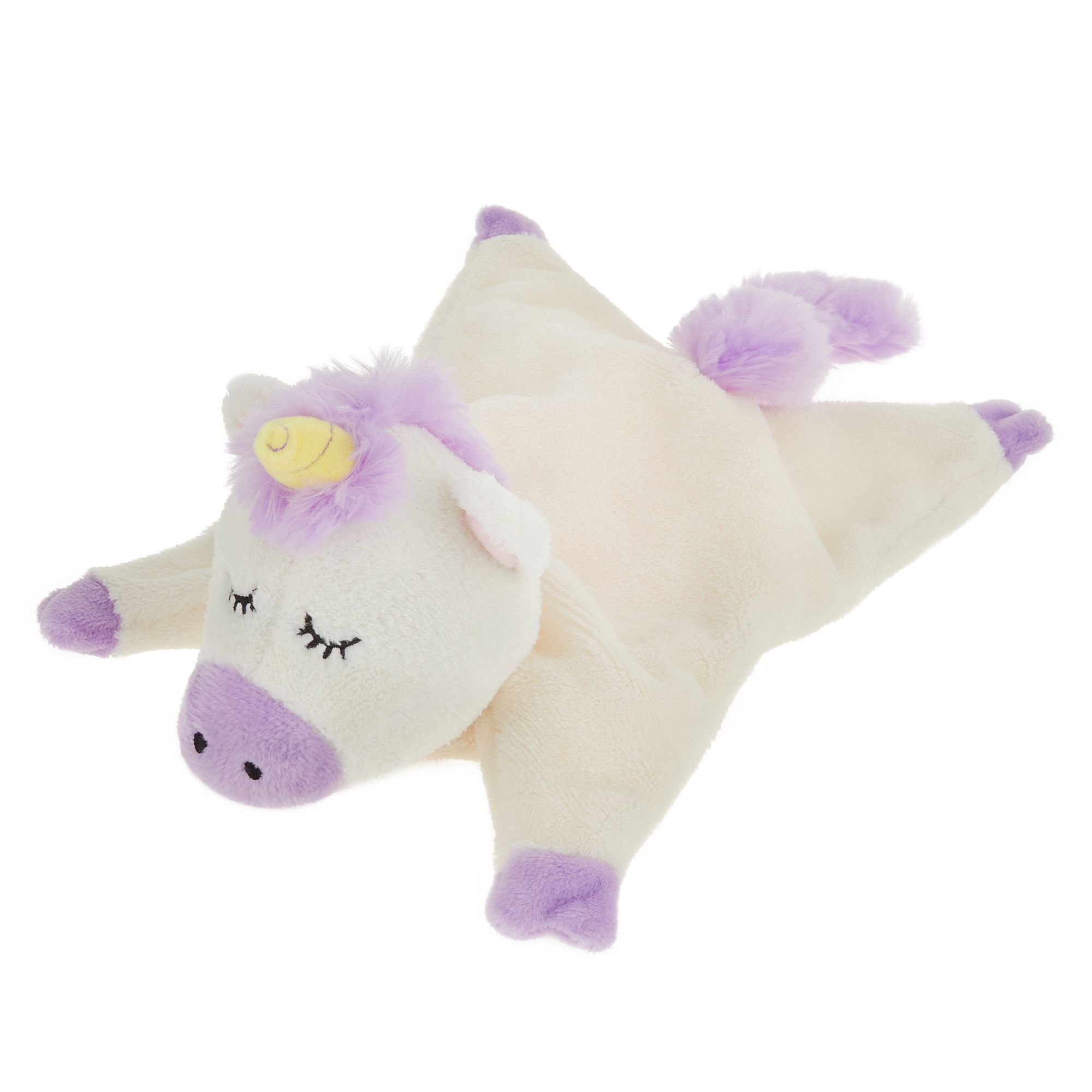 Top Paw Unicorn Puppy Dog Toy Plush Squeaker Plush Dog Toys