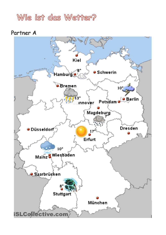 wetter in deutschland wechselspiel wetter wetter in deutschland wetter und deutsch lernen. Black Bedroom Furniture Sets. Home Design Ideas