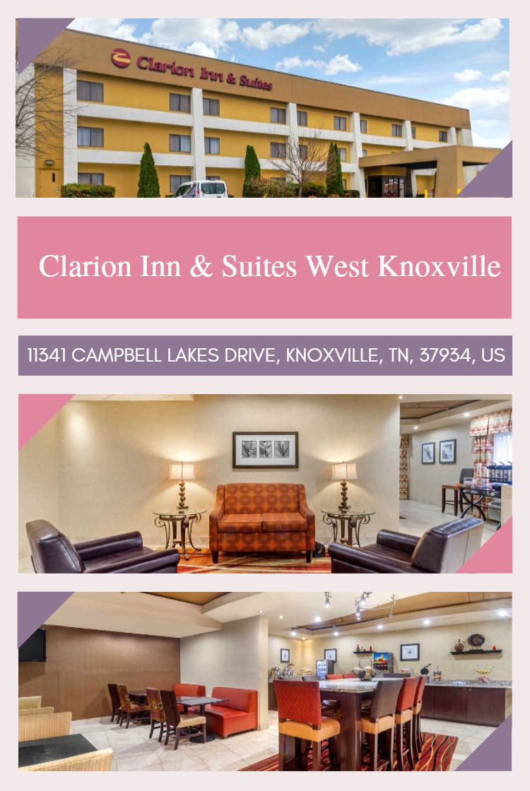 Clarion Inn Suites West Knoxville Features An Outdoor Pool And A