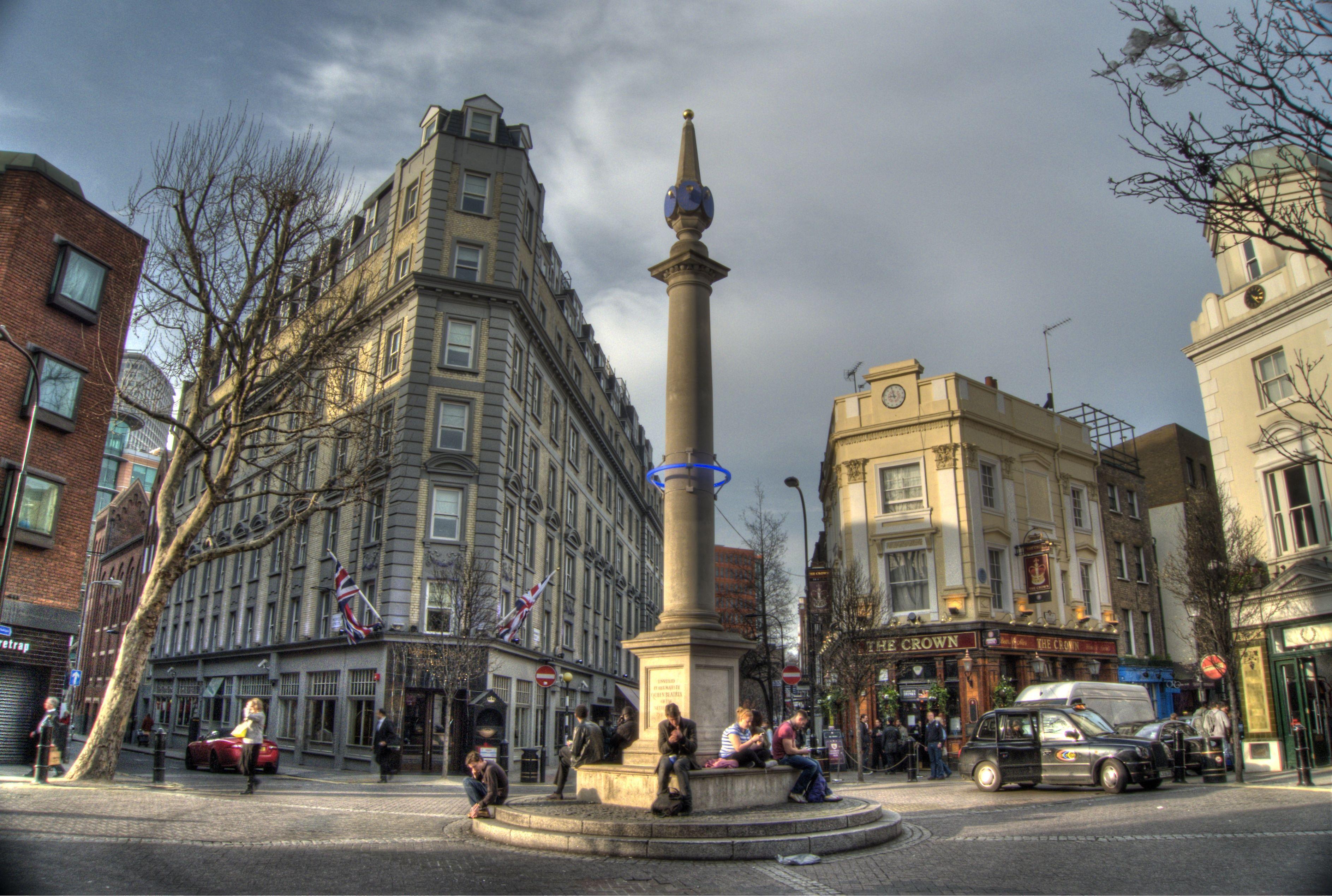 Seven Dials | britishisms | Beautiful london, London ...