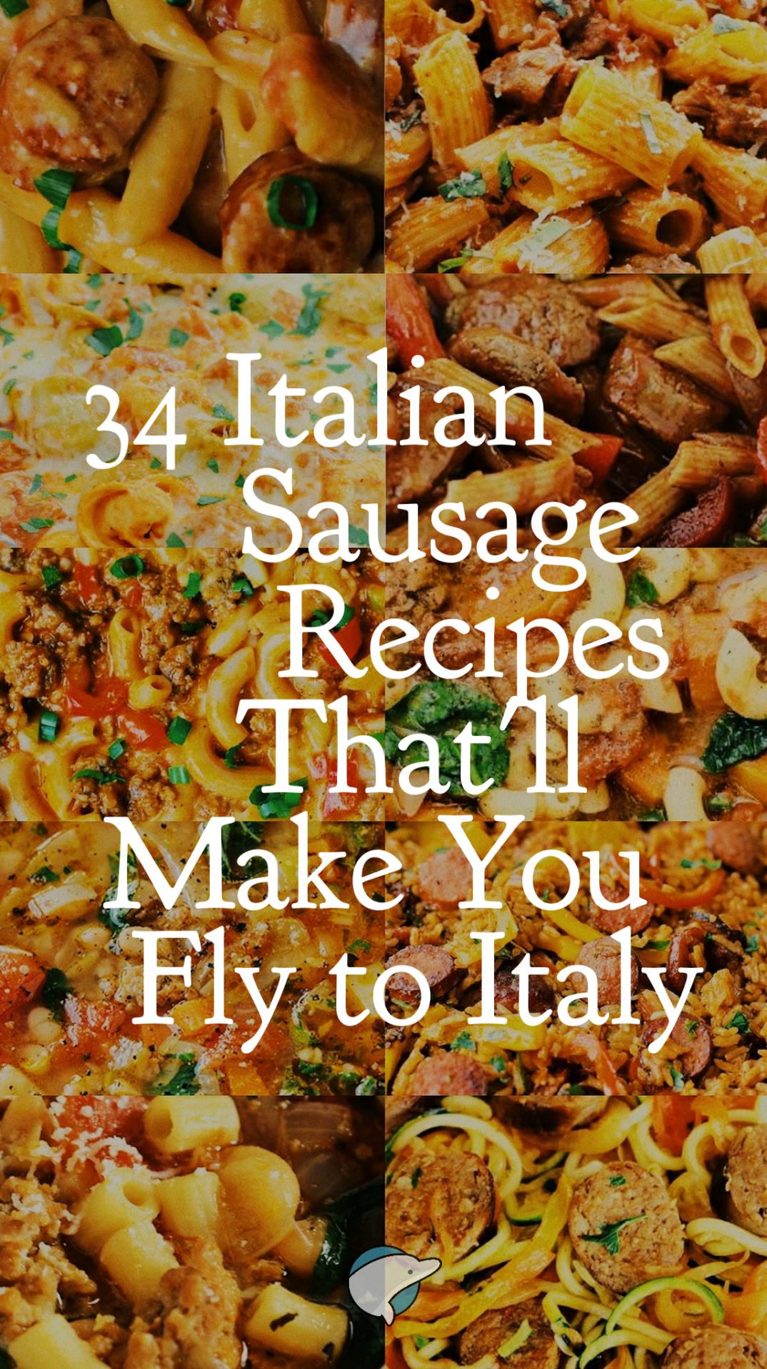Photo of 34 recetas de salchichas italianas que te harán volar a Italia | Decoración delfín