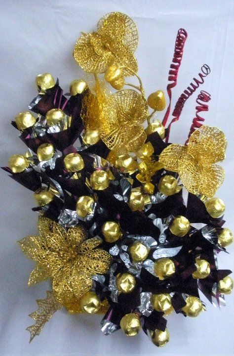 how to make a chocolate bouquet at home