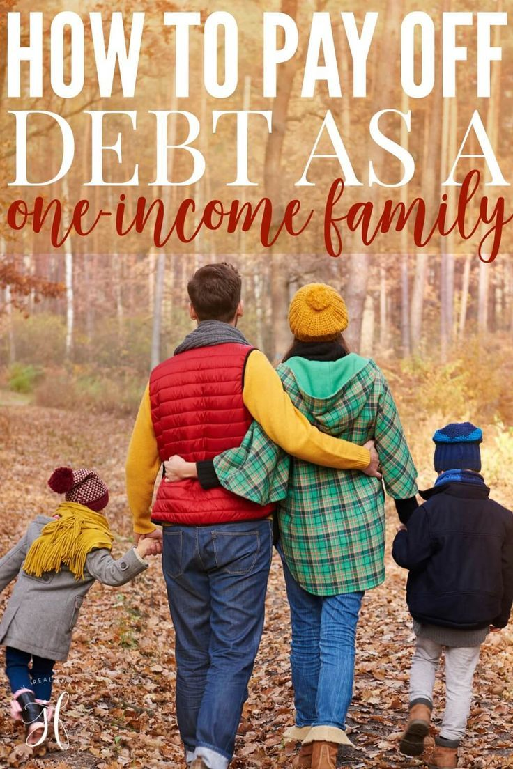 How to pay off debt as a family debt payoff