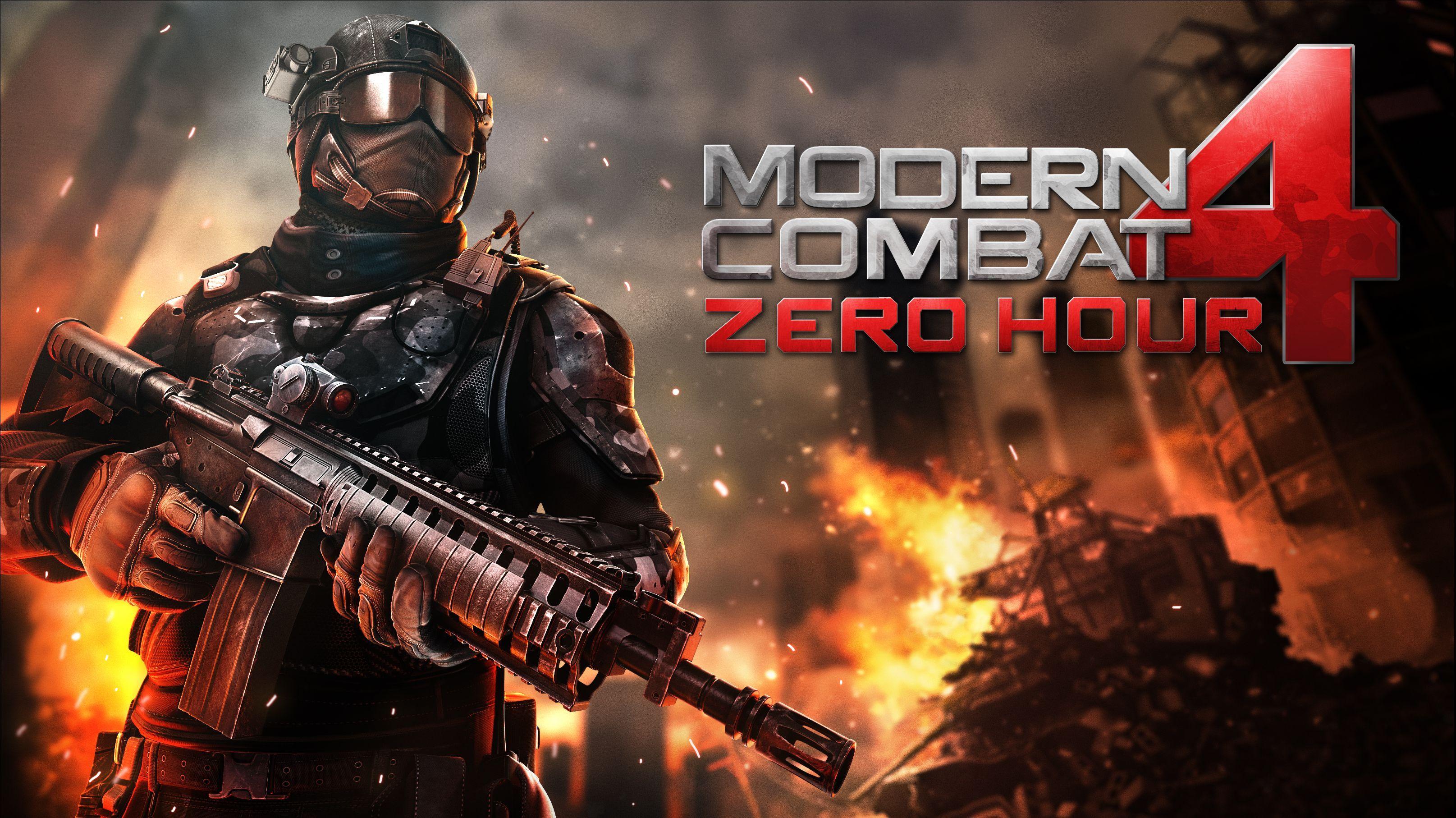 Gameloft Anuncia Modern Combat 4 Zero Hour El Juego Para Smartphones Mas Esperado De La Temporada Juegos De Disparos Juegos Temporadas