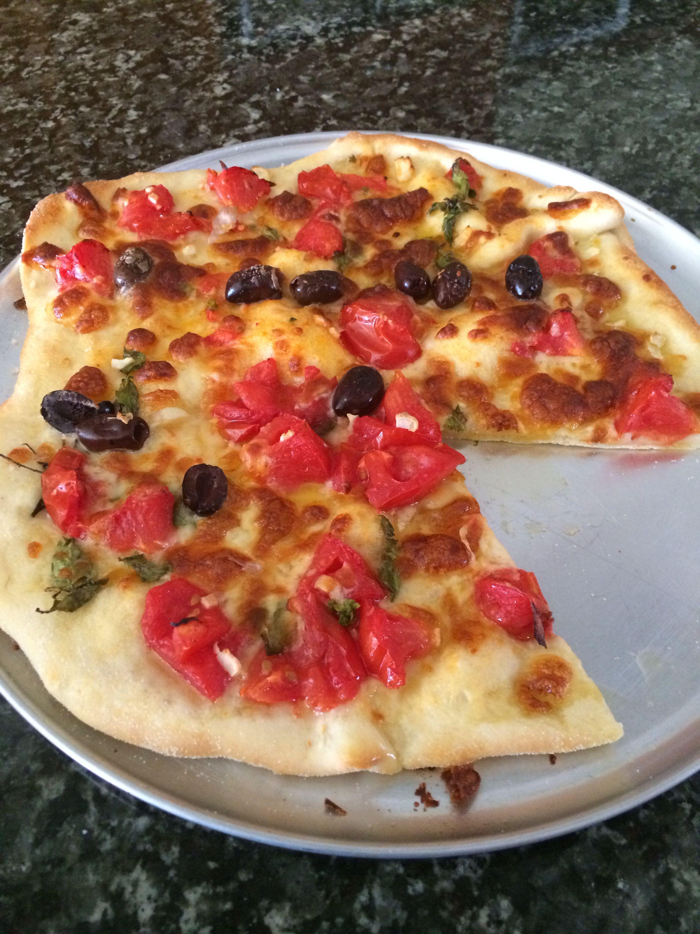 My Pizza Dough 500g Flour 300g Water 1tsp Dried Yeast 1tbs