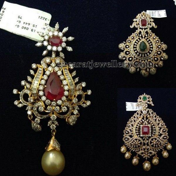 Jewellery designs diamond pendant traditional jwellery jewellery designs diamond pendant aloadofball Choice Image