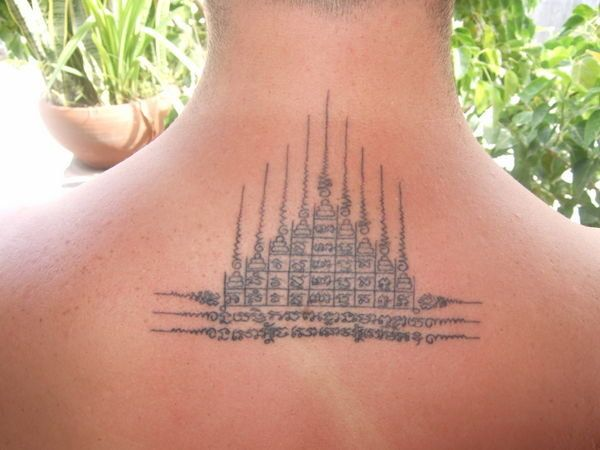 Thai bamboo tattoo google search tatoos pinterest for Thailand tattoo meaning