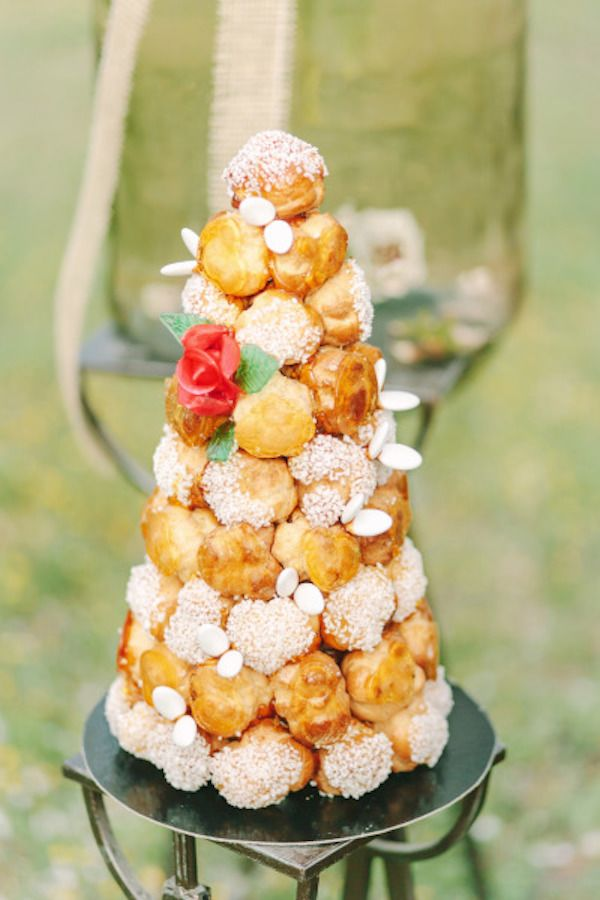 Guide to Getting Married in France | Croquembouche, Wedding cake and ...