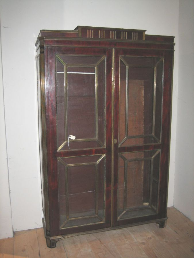 Russian mahogany and brass Cabinet - Catalogue - Core One