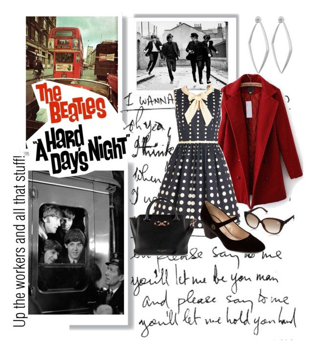 """""""Up the workers and all that stuff!"""" by audreyh88 ❤ liked on Polyvore"""