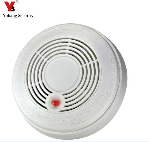 Yobang Security Battery Powered Combination Smoke Alarm Co Carbon Monoxide Poisoning Sensor Photoelectric Co Smok Smoke Alarms Fire Protection Smoke Detector