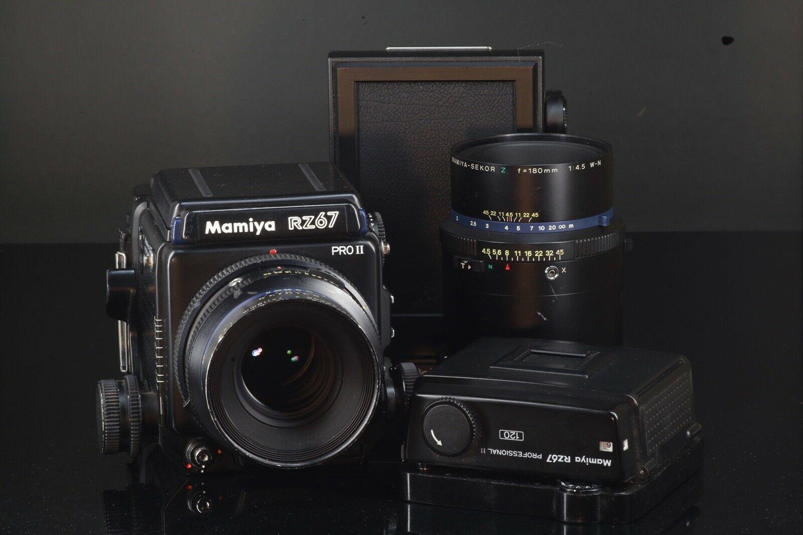 Mamiya RZ67 Pro II 6X7 Camera w/ 110mm