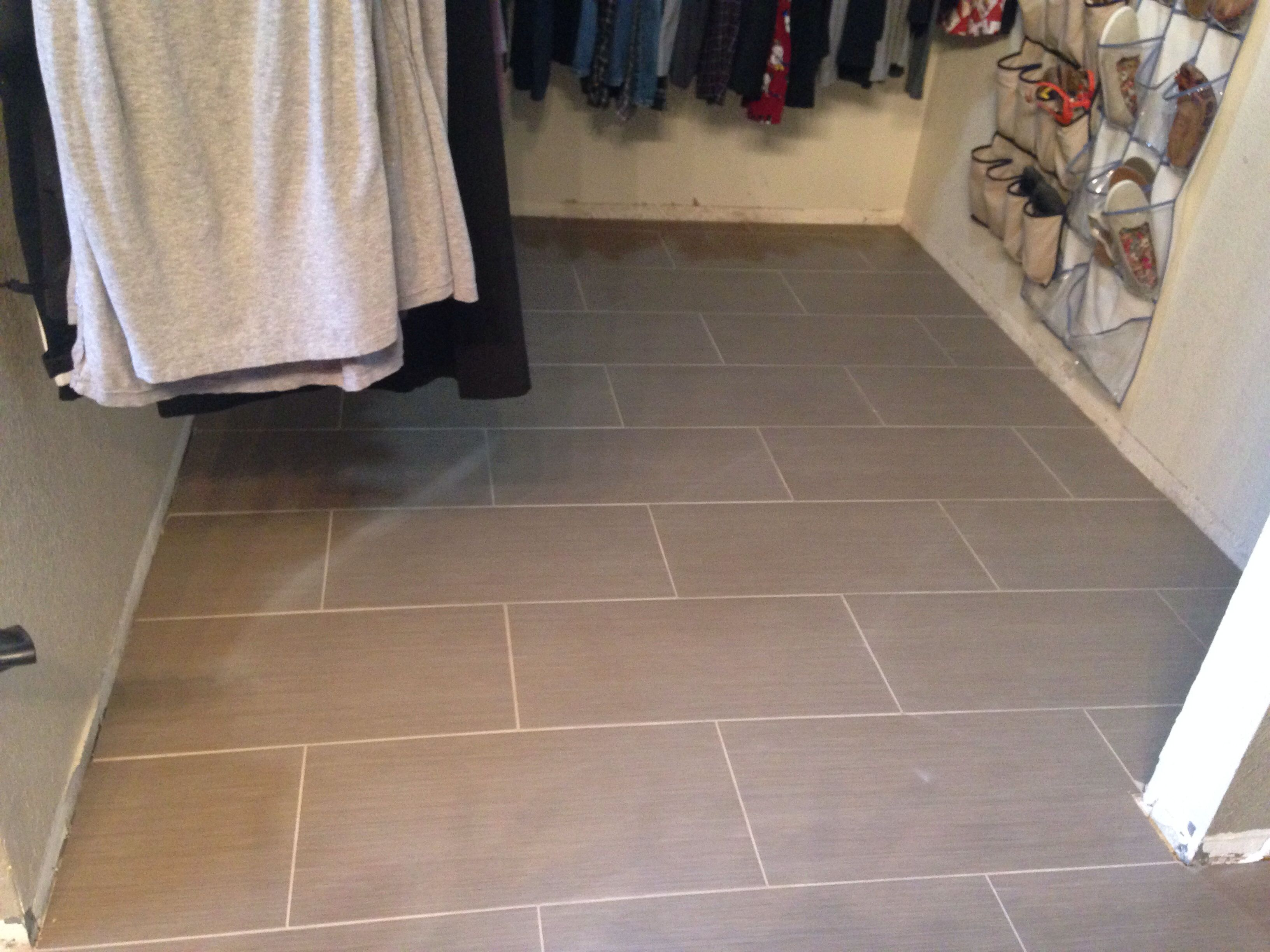 Metro Charcoal 12x24 Flooring House Tile Floor