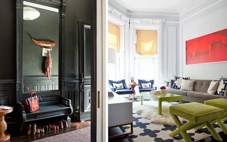 Bilder Für Wohnzimmer  Modern Farbe Rot Bild Akzent