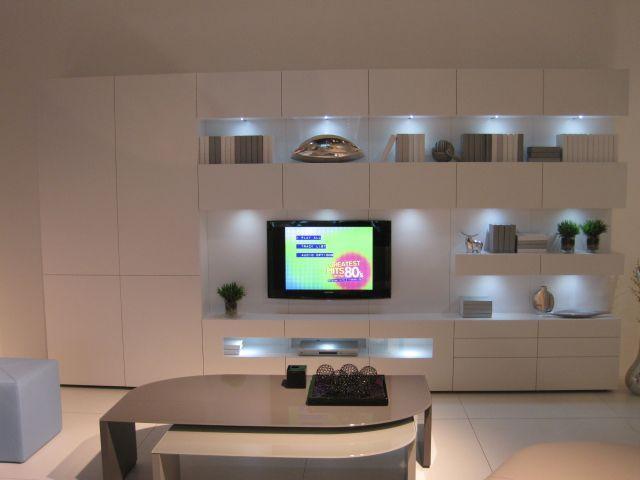 Karat Tv Meubel : Karat tv meubel uitgevoerd in wit voorkant interieur pinterest