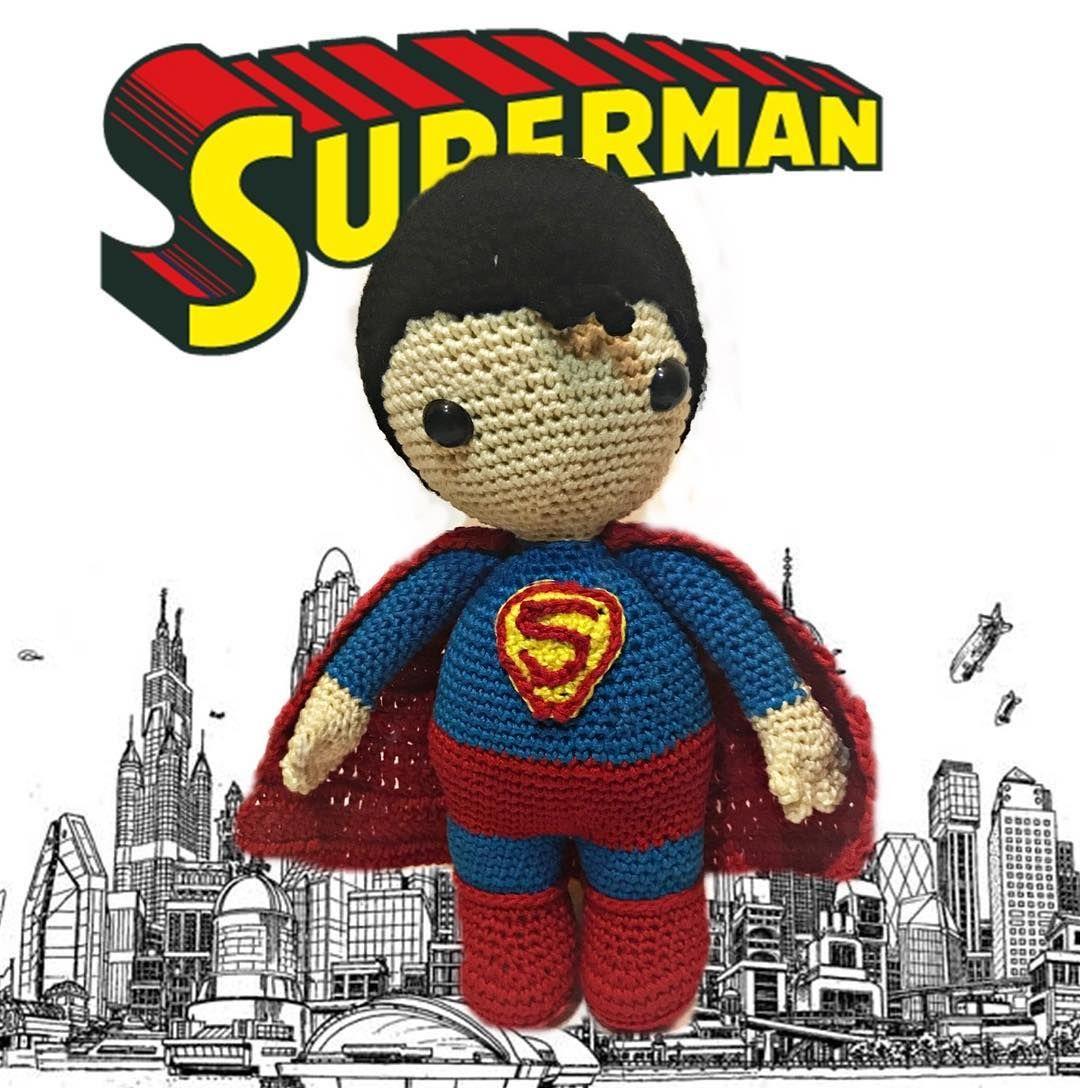 superman, amigurumi, crochet, pattern, superhero | creaciones ...