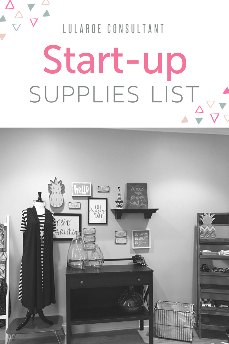 lularoe consultant start up supplies list lularoe kirsten ott