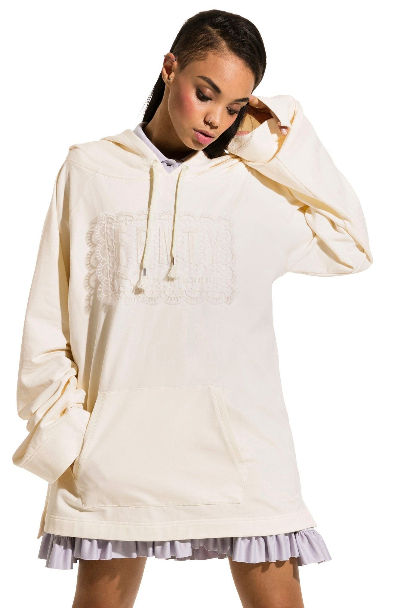 51ac2fb1c40 New FENTY PUMA by Rihanna Fleece Hoodie OLIVE BRANCH fashion online.   260   new offer from Newoffershop