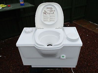 White Thetford Cassette Toilet Caravan Motor Home Toilet Manual Flush Cav14 View More On The Link Http Www Zeppy Io Toilet Bathroom Items Caravan Parts