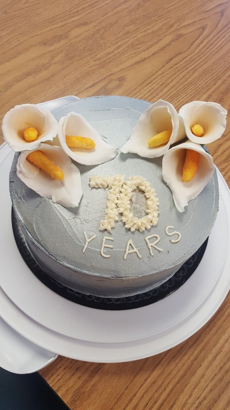 Th wedding anniversary with calla lilies accomplished pinterest