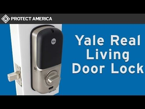 Yale Z Wave Door Lock Protect America Built To Work Seamlessly With Your Protect America Alarm System The Protect America Home Security Security Equipment
