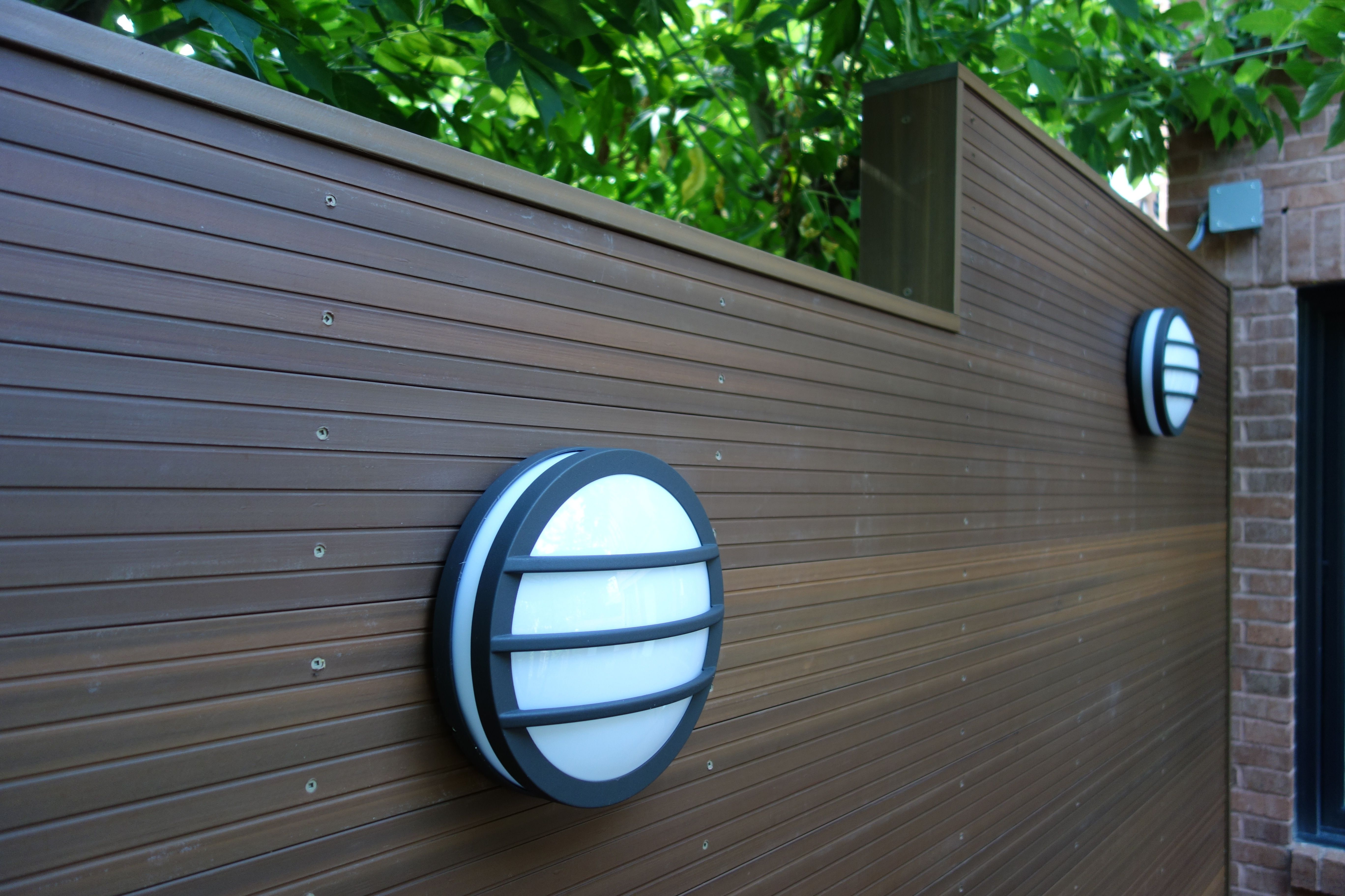 This Composite Decking Side Wall Is A Beautiful Addition