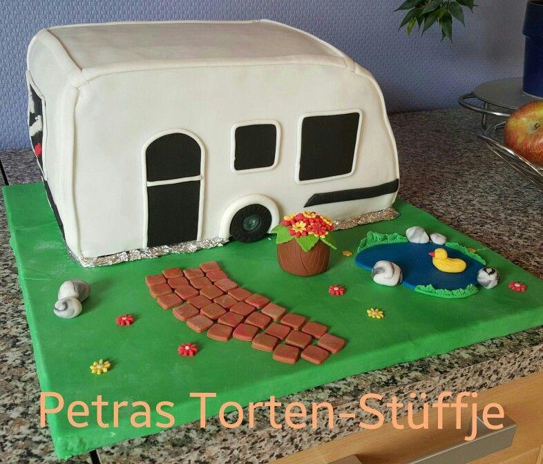 Wohnwagen-Torte