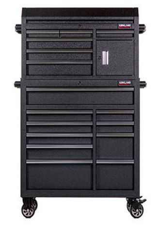 "Kirkland Signature™ 42"" Mobile 16 Drawer Tool Chest Best Best Deal on a big Tool box $600"