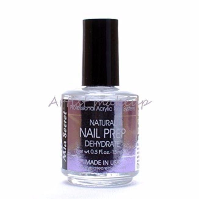 Mia Secret Professional natural Nail prep dehydrate 1/2 oz Made in ...