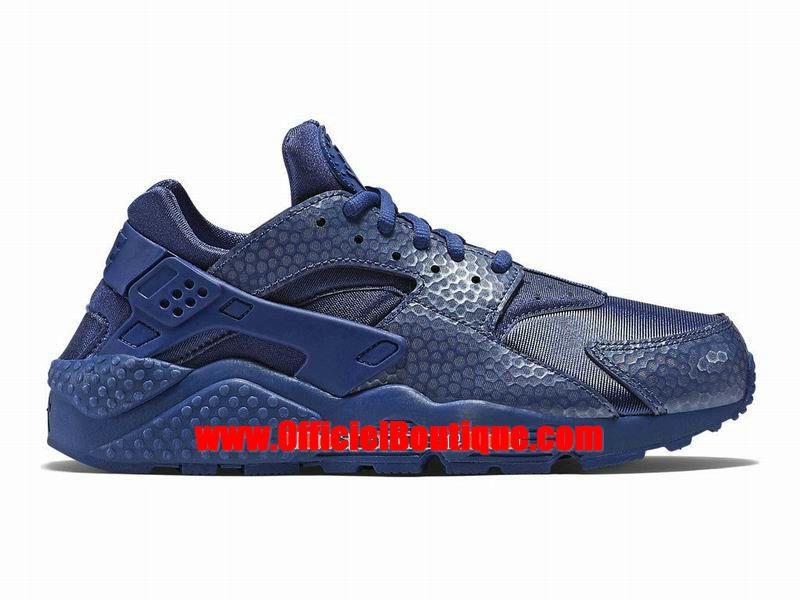 3897b36432d Chaussure Nike Sportswear Pas Cher Pour Femme Officiel Nike Wmns Air  Huarache Run Premium Bleu 683818