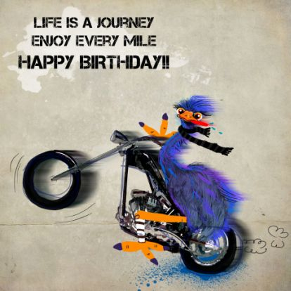 motorcycle birthday pictures  Happy Birthday Motorcycle | BiRtHDay | Pinterest | Happy birthday ...