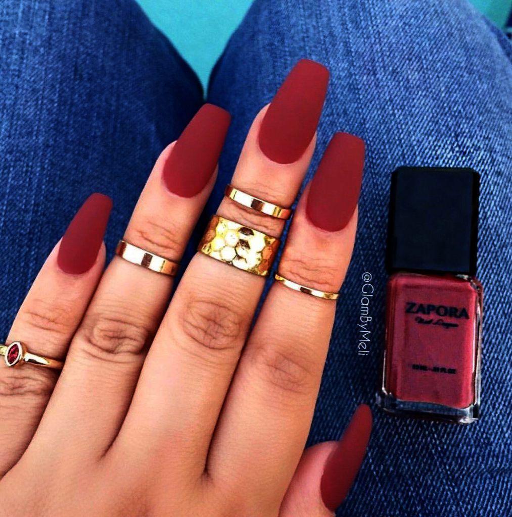 24pcs Set Art False Nails French Manicure Matte Full Cover Medium