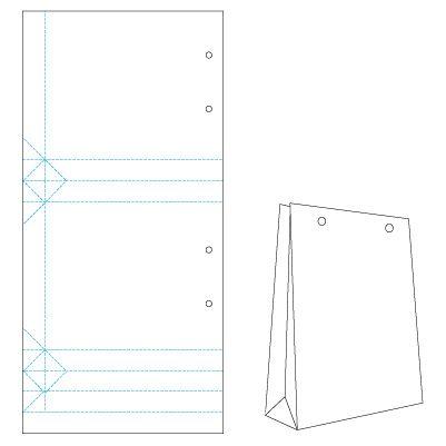 Бумажные пакеты своими руками (простой способ) 78