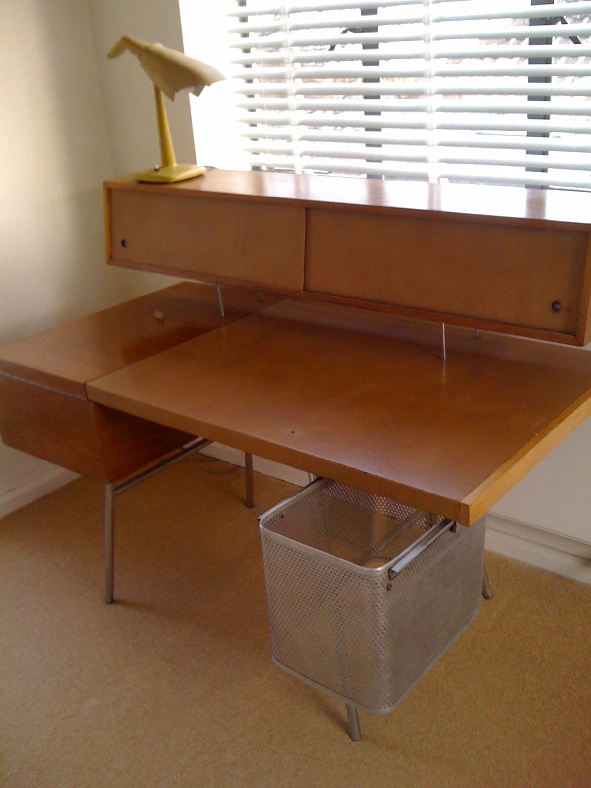 George Nelson Home Office 1950s Herman Miller Production Dreamy  # Muebles George Nelson