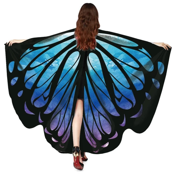 Photo of Free Ostrich 2018 Butterfly Wings Fairy Ladies Nymph Pixie C…