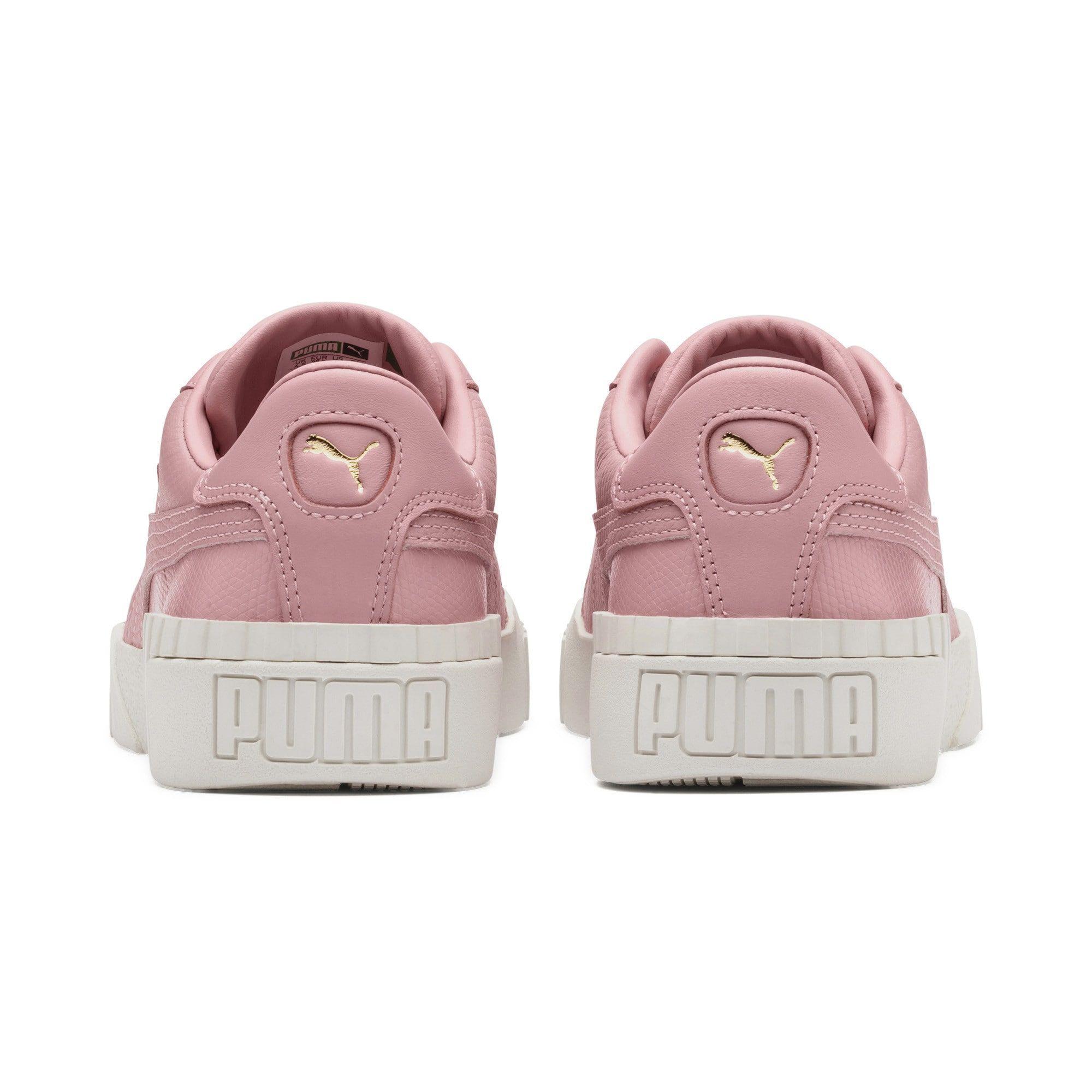 Puma Sneaker Cali Emboss Damen Altrosa Weiss Grosse 41 Puma Sneaker Schuhe Damen Und Puma