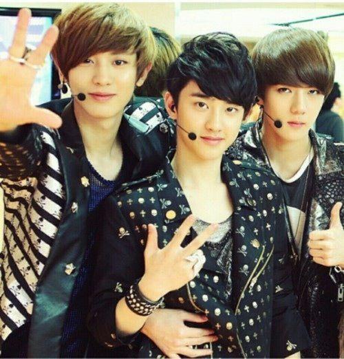 Yeol, D.O and Baekhyun