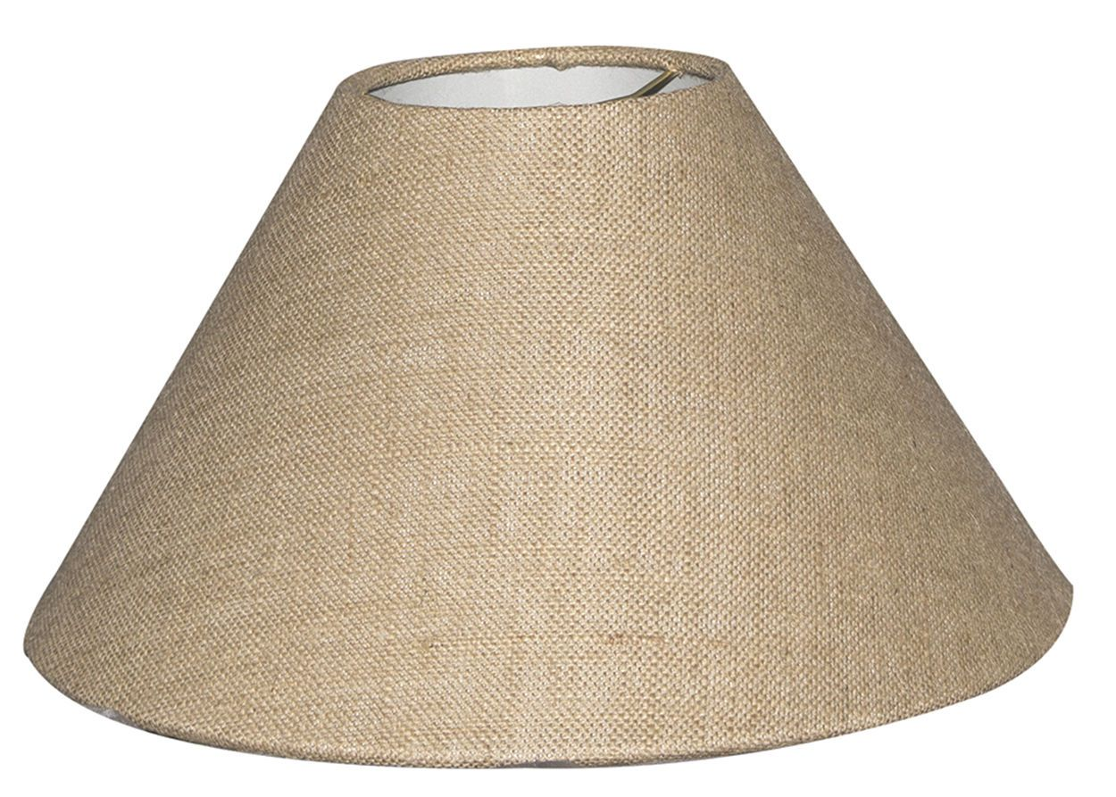 Lamp Cream Burlap Yuta Jute Candle Clip On Lampshade Ceiling Light Shade Handmade From The Burlap Lamp Shade And Its Low Price Offered