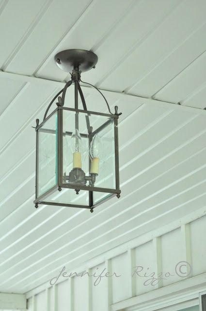 The oak house project diy porch ceiling light fixture before the oak house project diy porch ceiling light fixture before after aloadofball Gallery