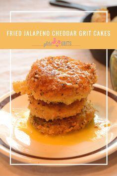 Fried grit cake recipe