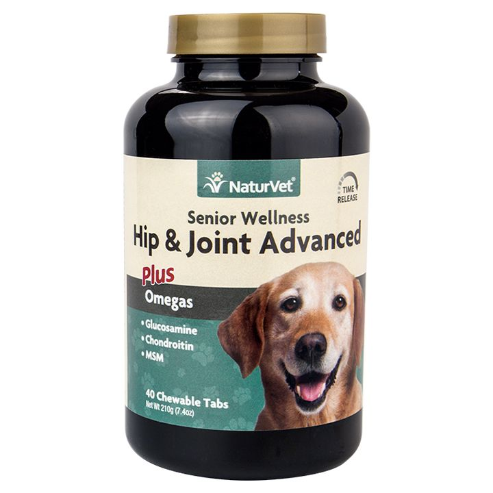 Senior Hip & Joint Advanced Plus Omegas Tabs Senior