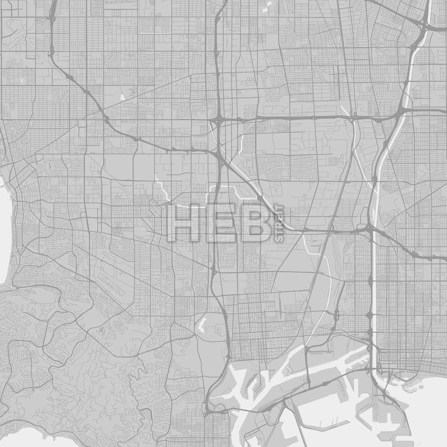 Carson California Area Map Grey Carson california and Ui ux
