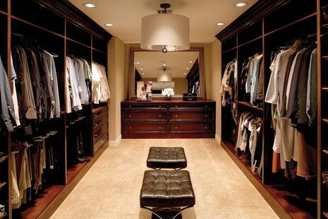 Best Man Closet Just Add A Recliner Tv And Mini Bar