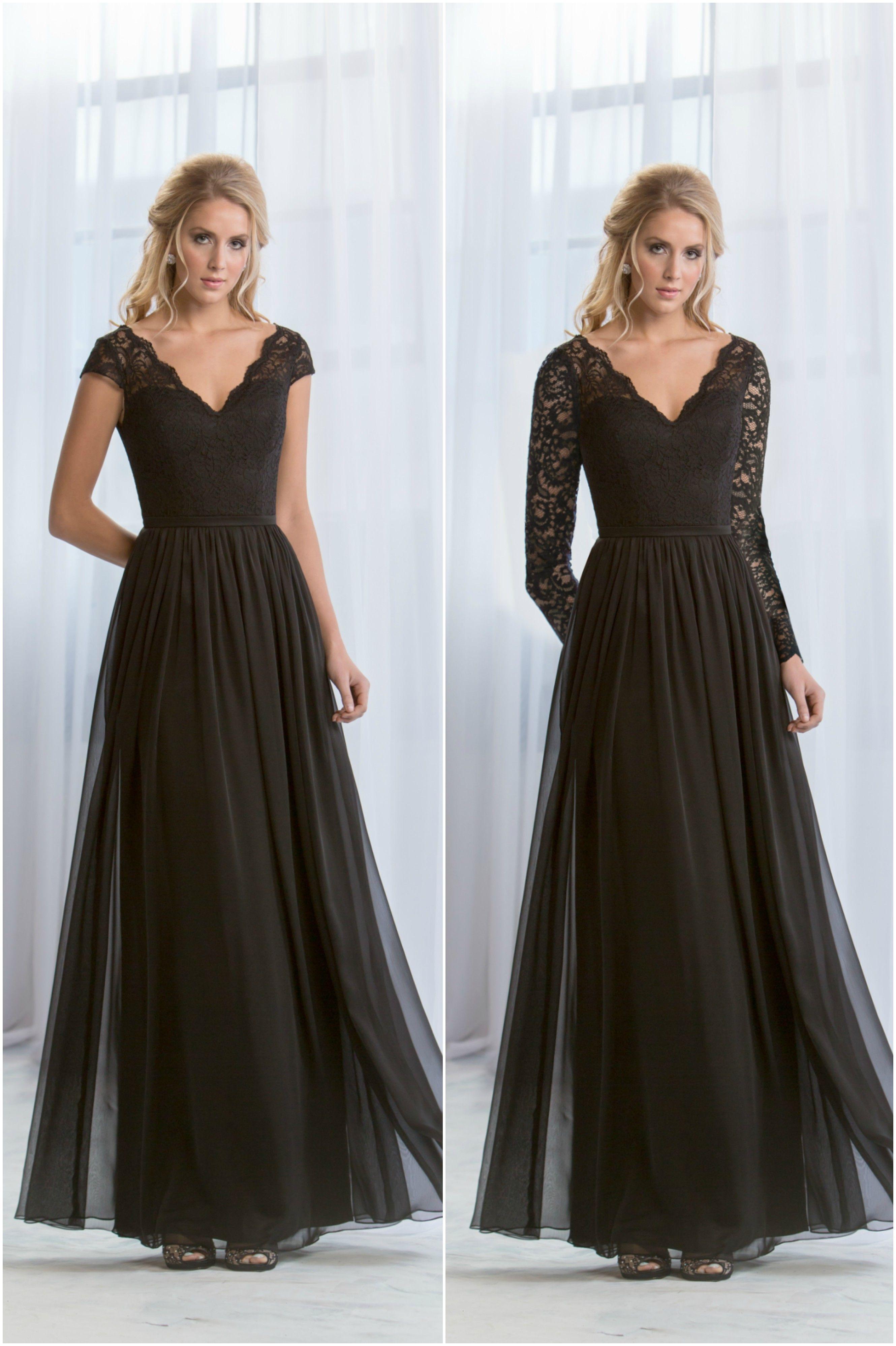 Jasmine Bridal Fall Bridesmaid Dresses Black Bridesmaid Dresses Black Bridesmaid Dresses Long