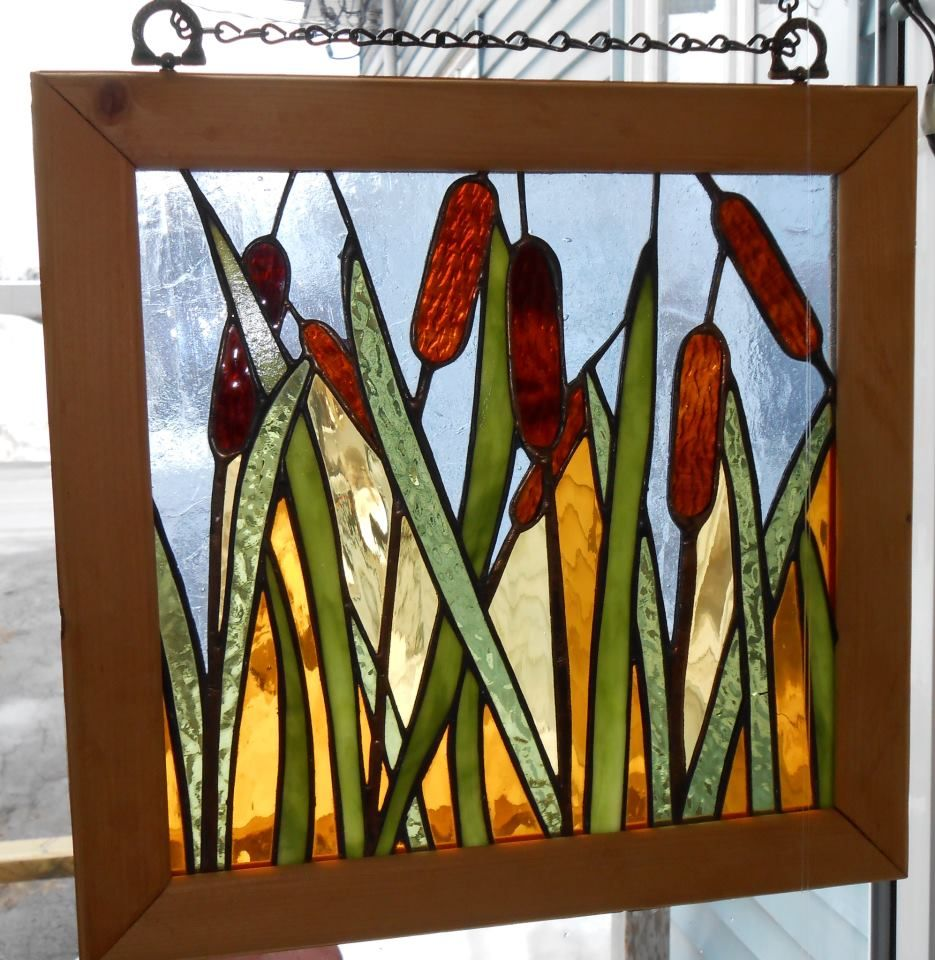 cattails verre2go ormstown student project pinterest glass