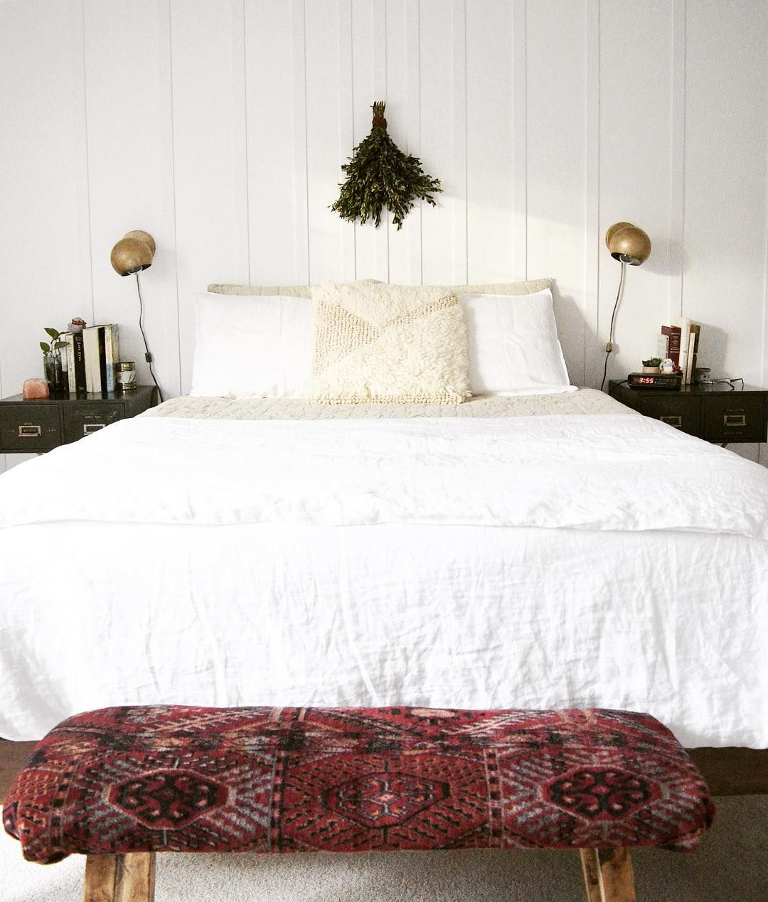 21 Cosy Winter Bedroom Ideas: A Cozy Bedroom Adorned With The Softest Touches Of Winter