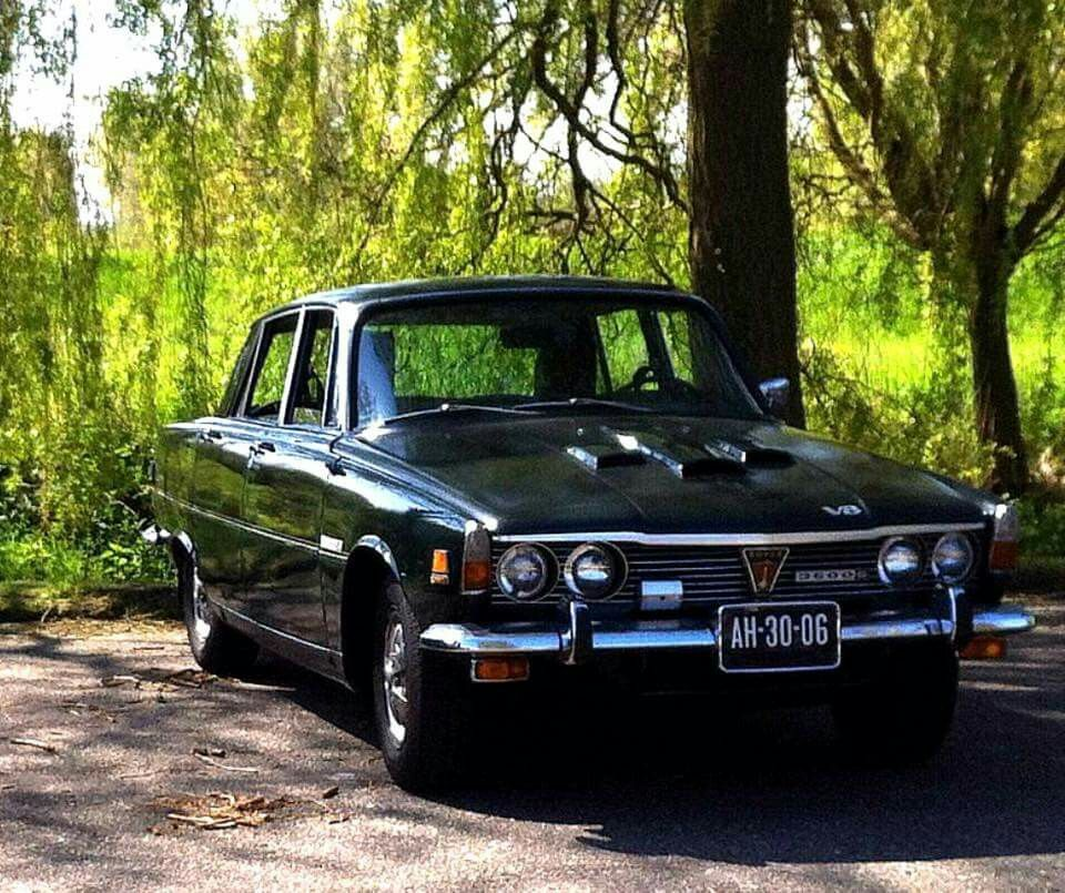 Rover P6b 3500 S Federal NADA Specification Saloon LHD | Favored ...